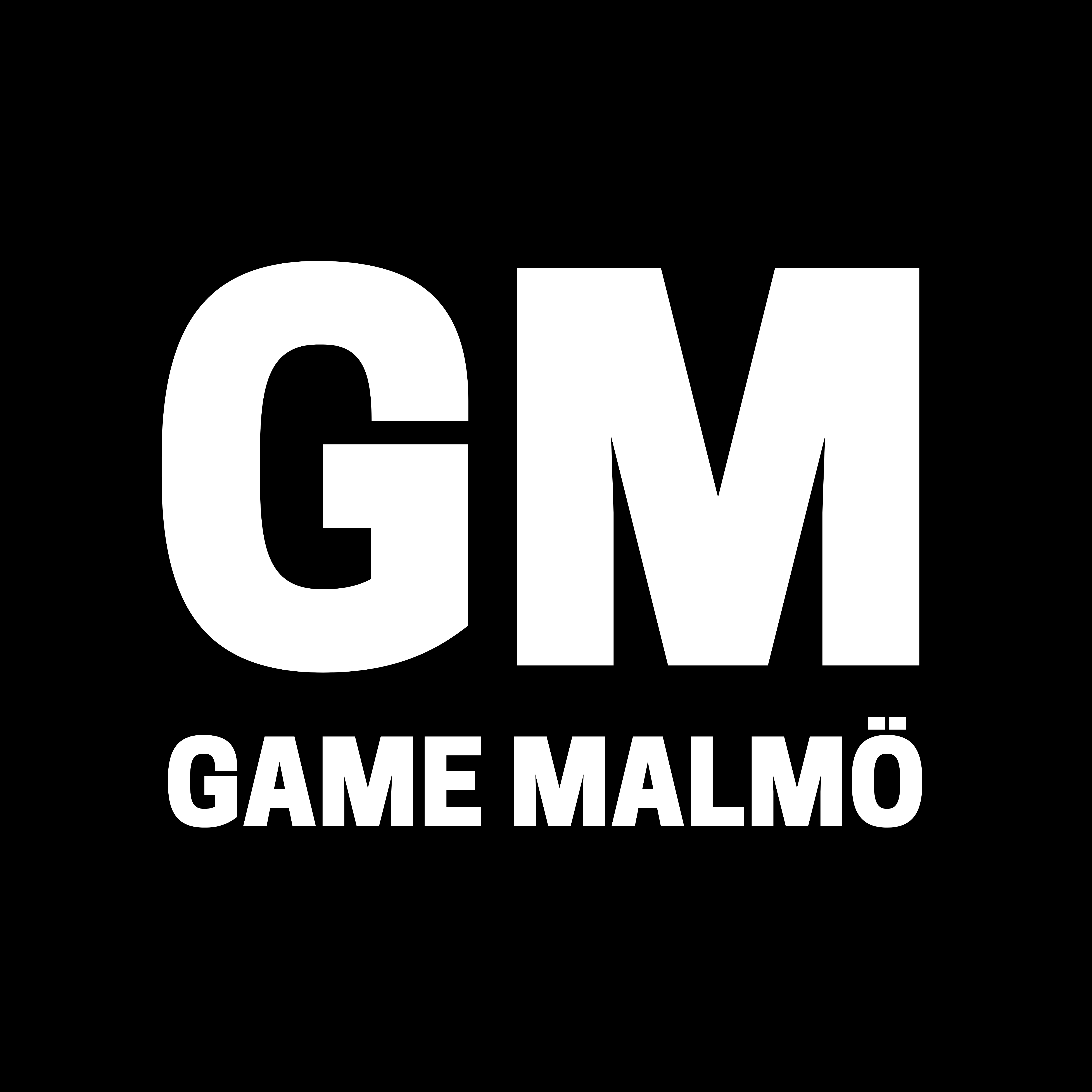 Logo We are GM - Game Malmö - @gamemalmo - gamemalmo.se